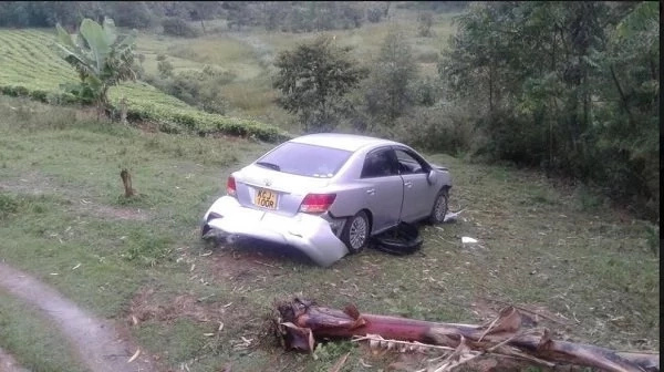 Senator Khalwale's four kids involved in a road accident, details