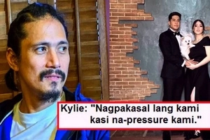 Kylie Padilla revealed her disagreement with Robin Padilla about getting married to Aljur Abrenica: 'Ayoko mapilit to get married'