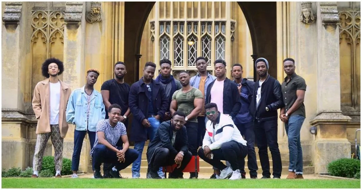 This photo of 14 black male students has gone viral online and the reason will INSPIRE you (photos)