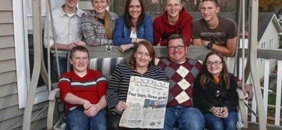 Seven from heaven! Meet first ever surviving SEPTUPLETS, 4 boys and 3 girls, who turn 19
