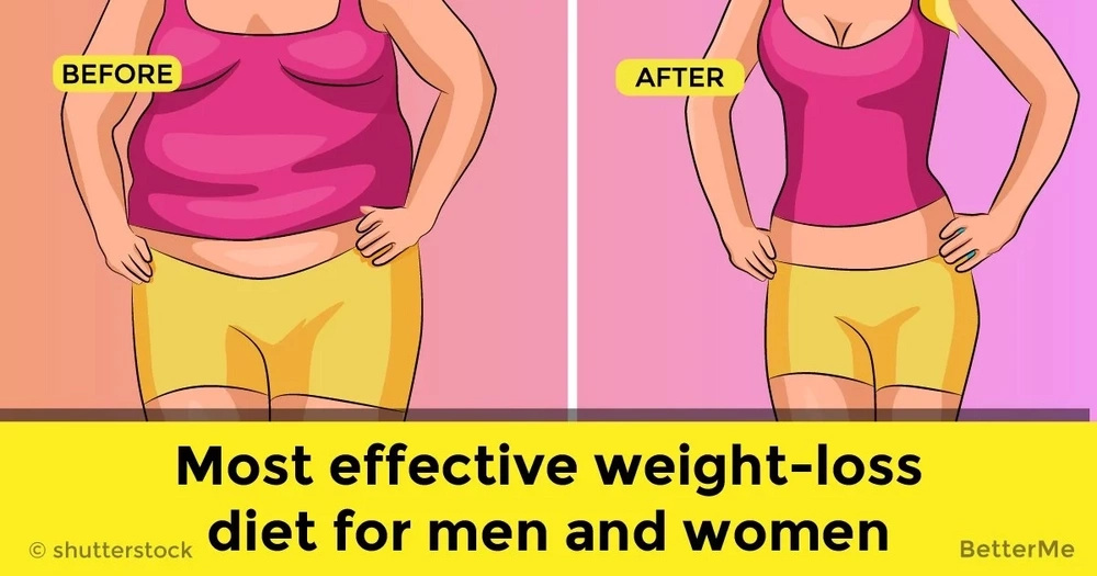 Most effective weight-loss diet for men and women
