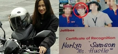 Ito ang tunay na idol! This Pinay was able to finish her studies by becoming a fast food crew member and now owns her business!