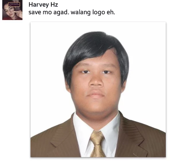 Filipino seeks help online for his photo, but people trolled him with memes