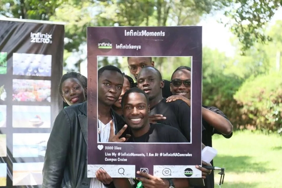 Infinix Na Comrades campaign gives free photography classes