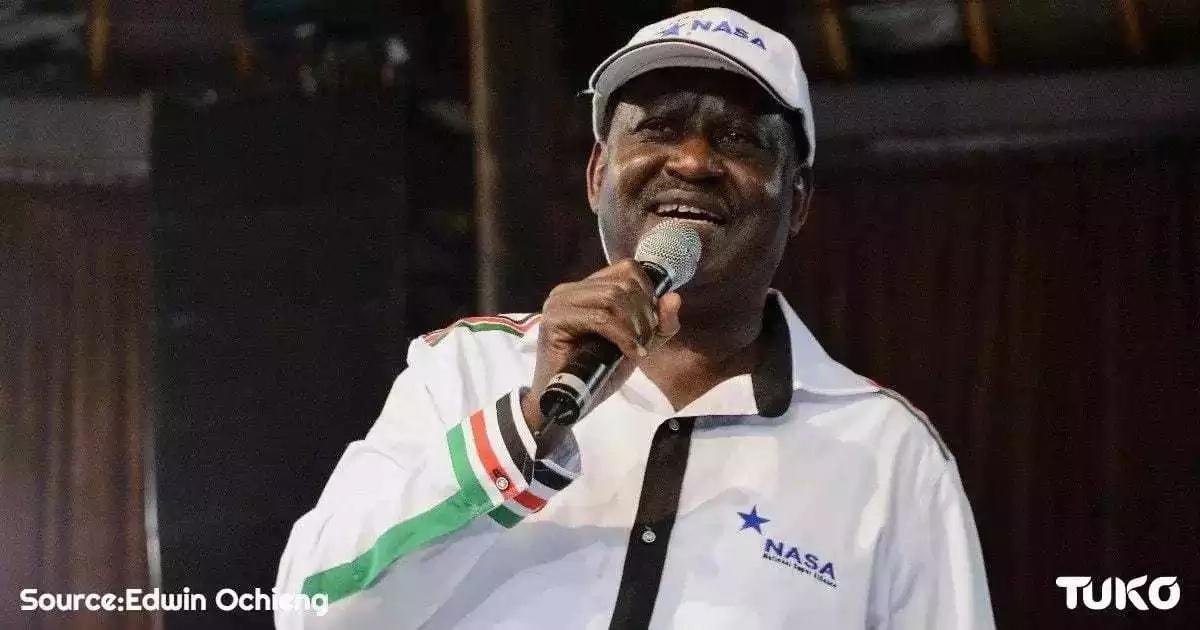 Ujumbe mkali wa Raila Odinga kwa Rais Uhuru Kenyatta