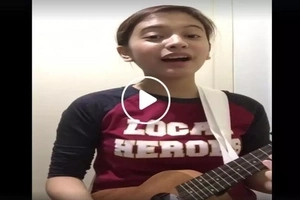 It feels like you're listening to an angel! Pinay teenager's cover of 'Grow Old with You' is the best version there is