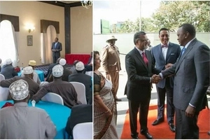 Uhuru Kenyatta warms the hearts of Muslims by offering a valuable Ramadhan GIFT