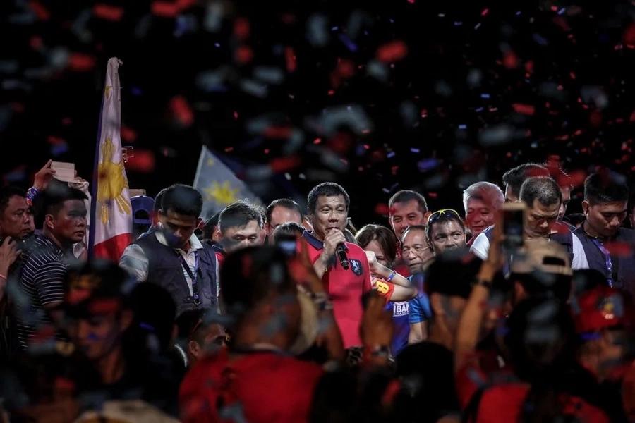 Duterte's quest for change challenges Philippine democracy