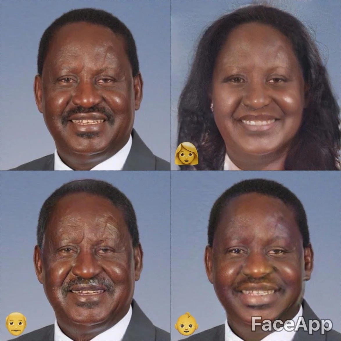 We turned Kenya's politicians into females and it is something you have to see