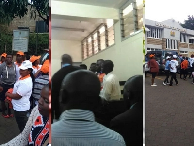 6 ODM youths 'who busted 3 people with BVR kits' in Eastleigh charged with robbery with violence (photos)