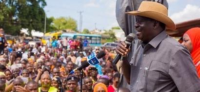 Raila Odinga 'spoils' for DP Ruto, warns coast residents against his money