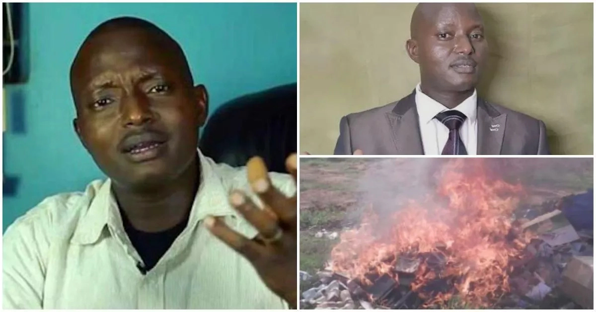 After burning thousands of Bibles, read what religious leaders did to preacher