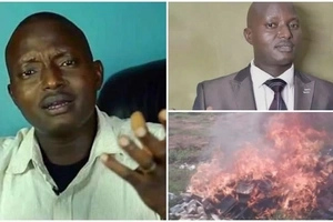"Ugandan pastor under fire from fellow priests after burning ""deceptive"" BIBLES (photos, video)"
