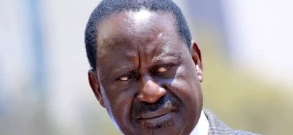Raila mobbed at Kisumu airport by a huge crowd