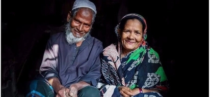 Elderly couple celebrate their dedication to each other in 60 years of marriage despite not having children