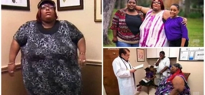 272-kg woman, 32, loses 53kg after her mother died of extreme OBESITY (photos)