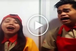 Jollibee employees' heartfelt rendition of 'Hanggang Ngayon' will make you cry