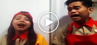 Jollibee employees' heartfelt rendition of 'Hanggang Ngayon' will make you cry