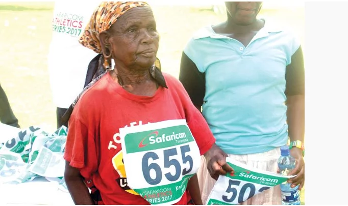 This 70-year-old granny from Rift Valley is becoming a marathon sensation to watch