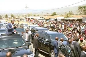 Mtafaruku kwenye ziara ya UhuRuto katika ngome za ODM waripotiwa