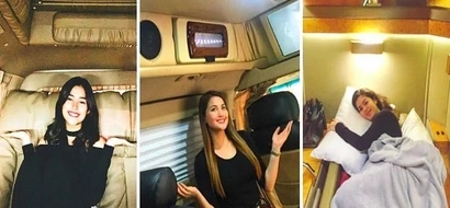 Mas maganda pa sa bahay at hotel room? You really need to see the luxurious vans of famous Pinoy celebrities! So jaw-dropping!