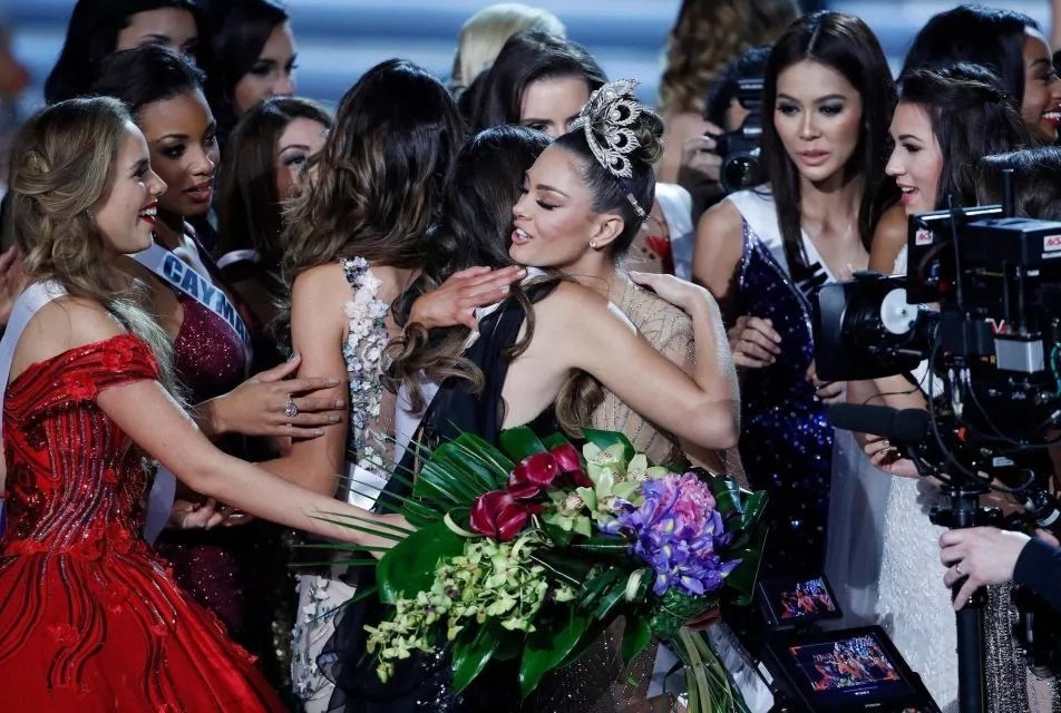 South African pageant crowned the world's most lovely  woman