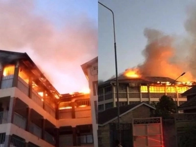 DEADLY fire at Infil Academy Komorock, death reported