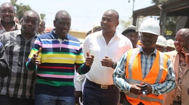 DP Ruto comes to the rescue of governor booed by crowd