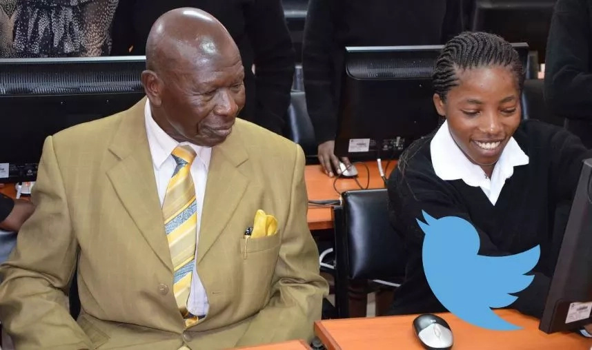 Former Vice President Moody Awori makes a gallant COMEBACK (Photo)