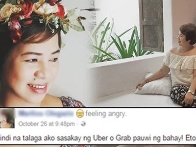 Dahil sa tsismis! Woman swears not to use Uber again after neighbors tagged her as promiscuous