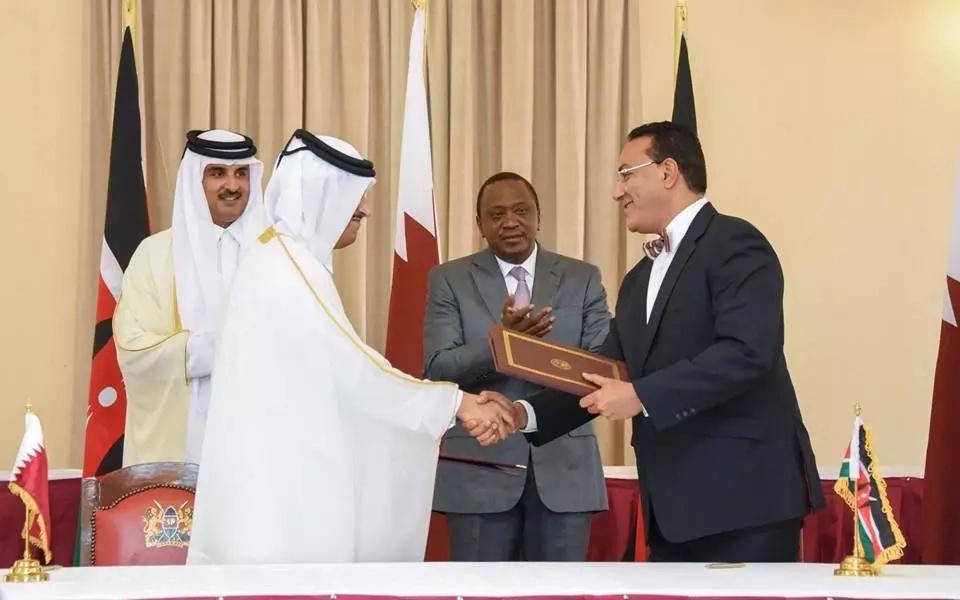 President Uhuru Kenyatta signs key agreements with Qatar (photos)