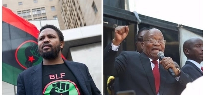 Zuma's new BFF, BLF, using trial as a launchpad for 2019 election ambitions