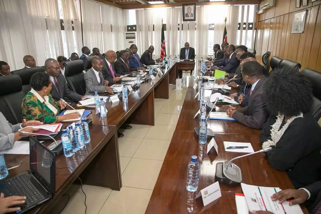 President Uhuru chairs fourth successive meeting amid fears of an economic crisis