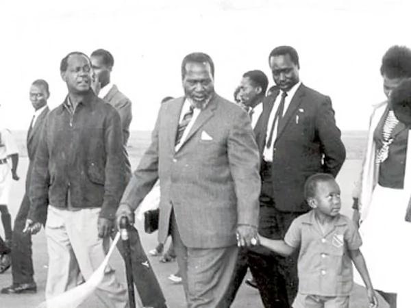 Cute photos of Uhuru Kenyatta as a baby
