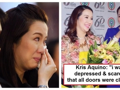 Ang honest talaga niya! Kris Aquino admits to suffering from depression because of her lack of work in showbiz