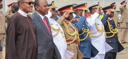 Rais Uhuru akasirishwa na kitendo cha kumfuta kazi kamanda wa kikosi cha Kenya