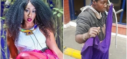 Why Kenyans have been left amazed by Victoria Kimani's pants