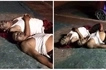 Hilarious photos of 2 drunk Pinoys sleeping on the sidewalk goes viral!