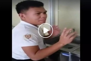 That was really funny! Pinoy shares tips on how to use automated water faucet with voice command
