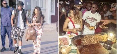 Diamond's fans ambush Zari during recent visit to Tanzania,demand to know if she has forgiven cheating husband