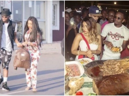 Diamond's fans ambush Zari during recent visit to Tanzania,demand to know if she has forgiven cheating husband