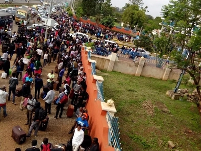 Kenyatta University closed indefinitely after students set school buildings on fire, details