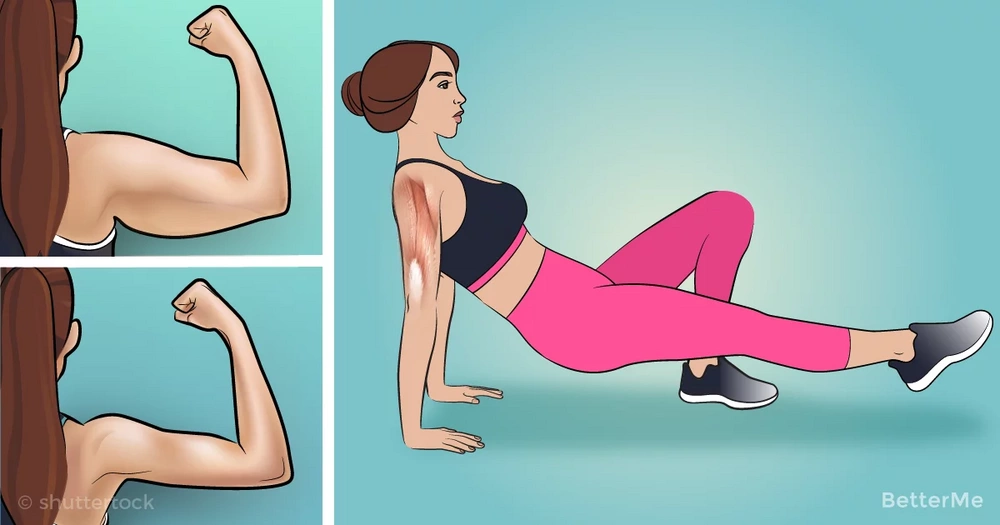 10 exercises to reduce arm fat at home