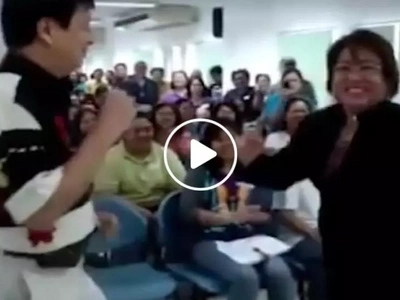 Netizen shares hilarious version of Senator Leila De Lima's cover of popular Ritemed commercial jingle...