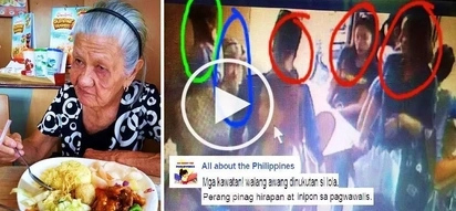 These heartless Pinay thieves stole cash from a poor lola who earns money by cleaning houses! Watch the shocking crime caught on CCTV!
