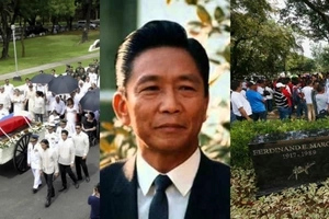 Wala talagang makakapigil! Marcos family and supporters hold vigil at former dictator's LMNB tomb