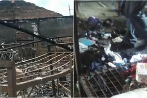 Form three student killed in school fire, two injured