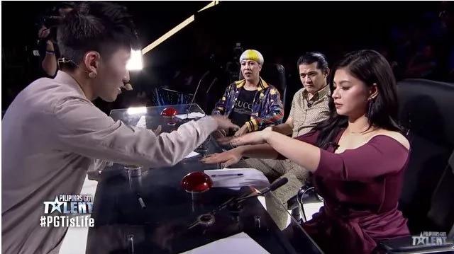 Netizens praise Angel Locsin's manner of rescuing Jiwan Kim on PGT