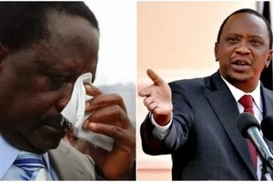 You are too old,quit politics, Uhuru tells Raila