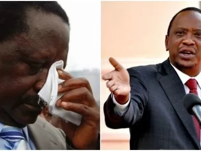 Did Uhuru and Raila avoid each other in these crucial meeting?